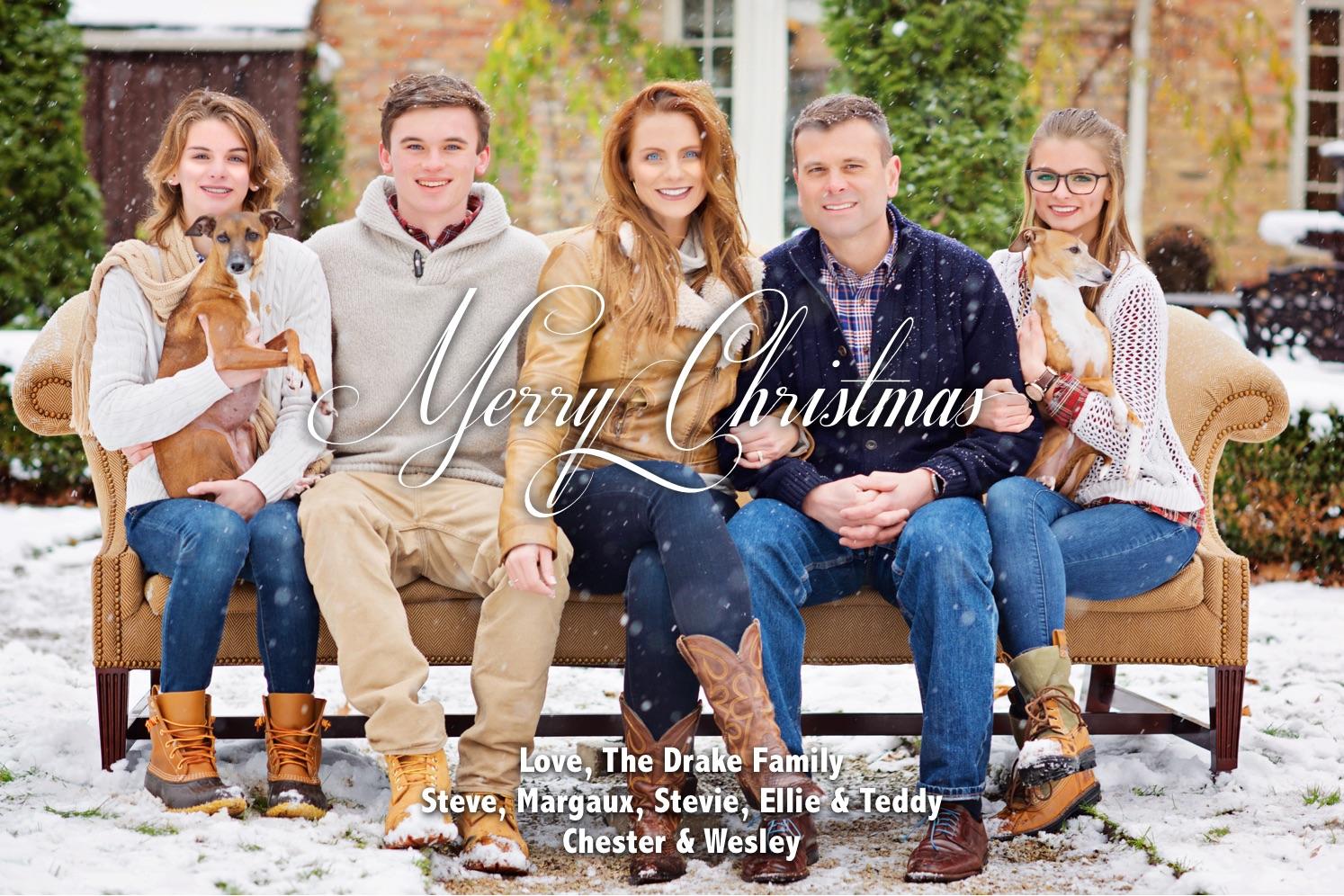 Merry Christmas The Drake Family-Margaux Drake-1