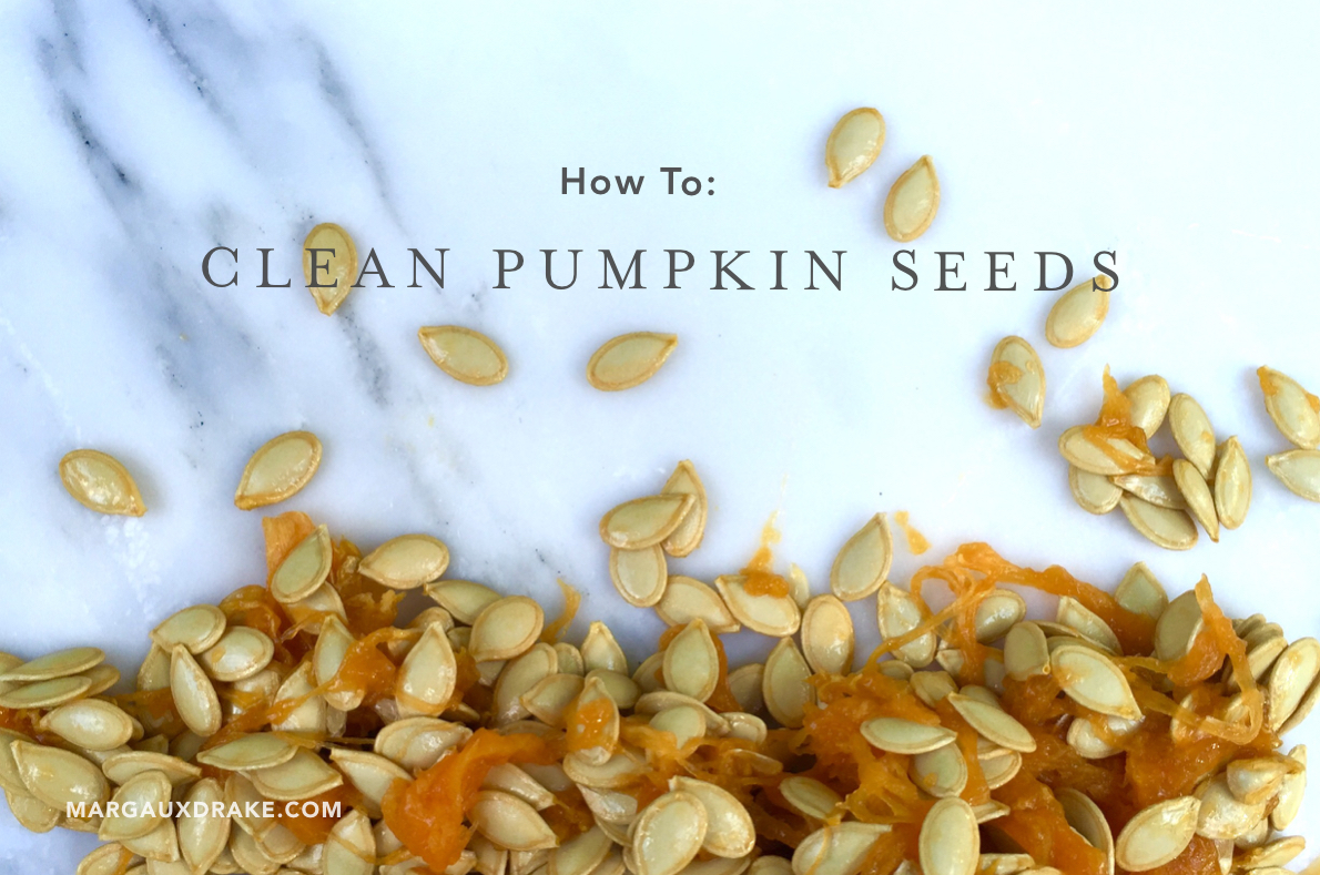 how to clean pumpkin seeds to cook